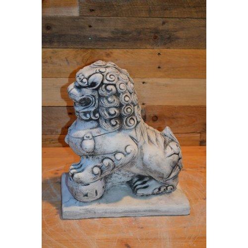 Chinese tempel leeuw
