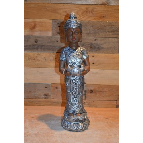 Shiva met waxinelichtje houder
