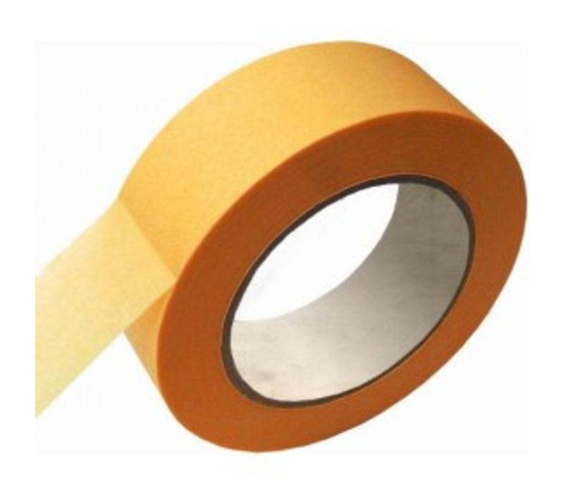 schilderstape geel 25mm