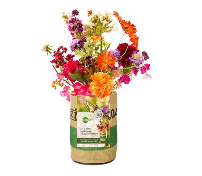 Let it grow - Vlinderbloemen