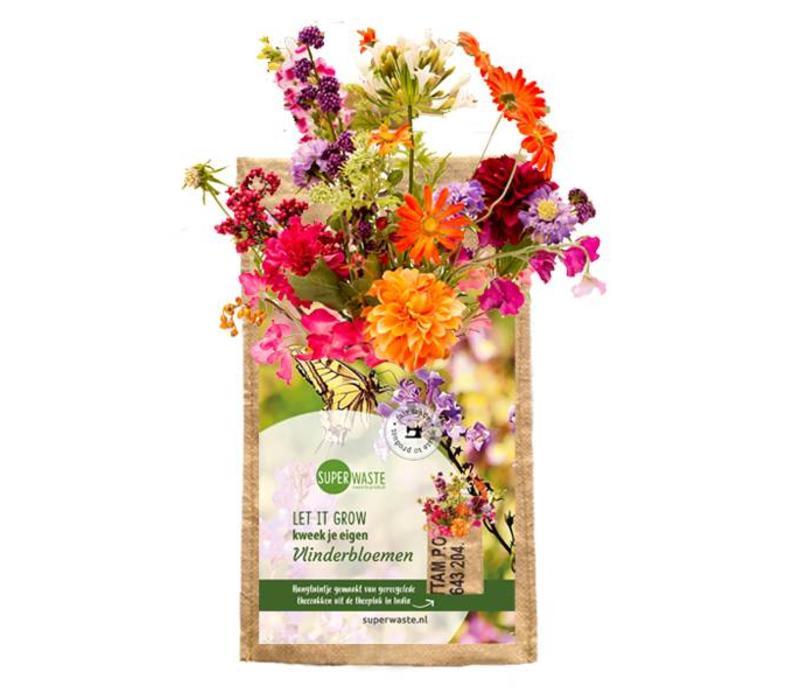 Let it grow - hangtuintje Vlinderbloemen