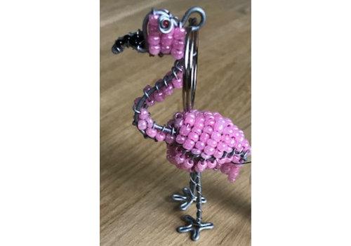 Go Arty Sleutelhanger Flamingo