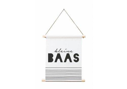 Zoedt Textielposter 'Kleine baas'