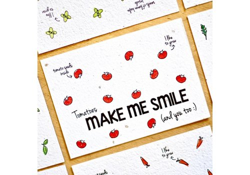 Bloom Bloeikaart - Make me smile