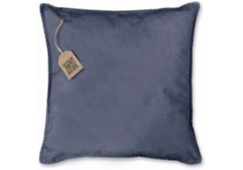 Unique Living Petflessen kussen Copen blue plain