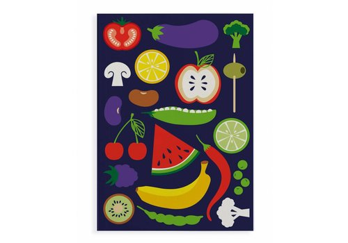 Fairforward Notitieboek Happy Veggie A5