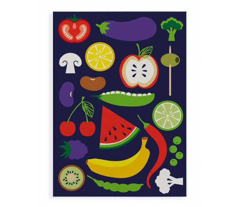 Notitieboek Happy Veggie A5