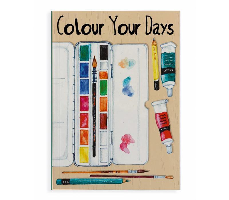 Notitieboek Paint Colour A5