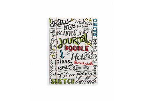 Fairforward Notitieboek Handlett Doodle A6