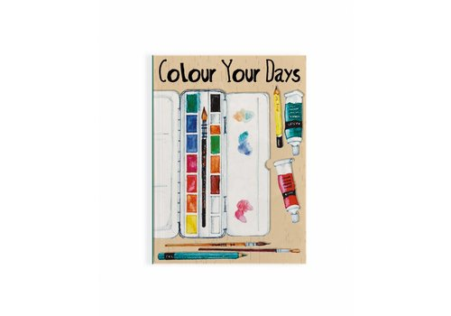 Fairforward Notitieboek Paint Colour A6
