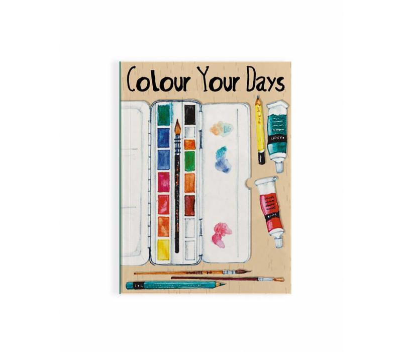 Notitieboek Paint Colour A6