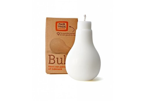Fairforward Palmoliekaars Bulb wit