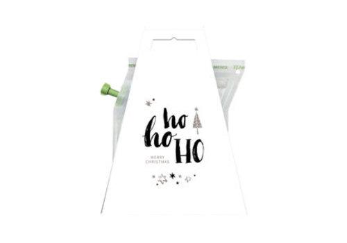 Van de Kaart Kerstkaart met thee - Ho ho ho