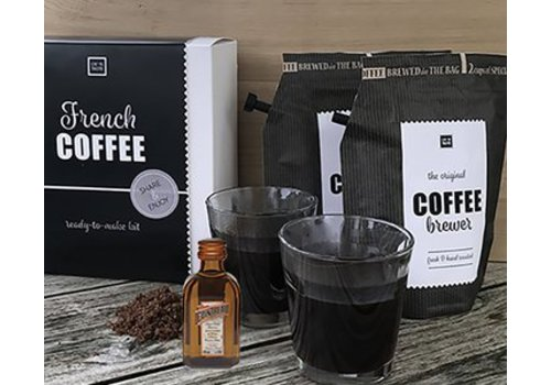Van de Kaart French coffee kit