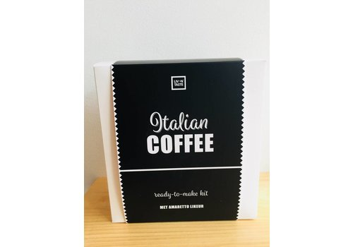Van de Kaart Italian coffee kit