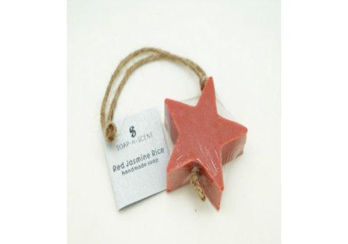 Kanika Zeep ster rood