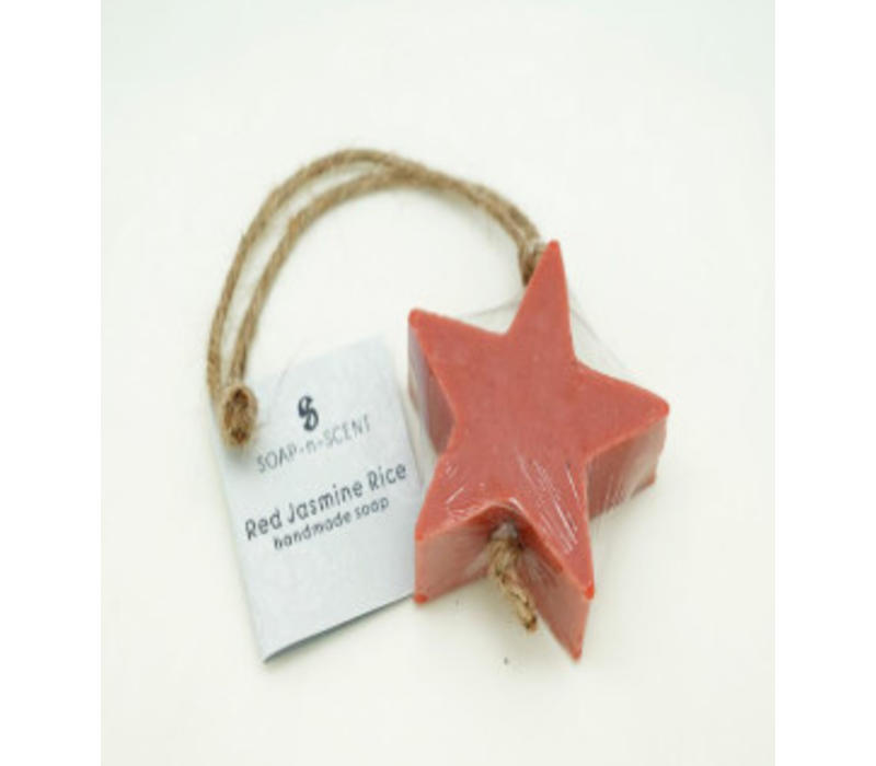 Zeep ster rood