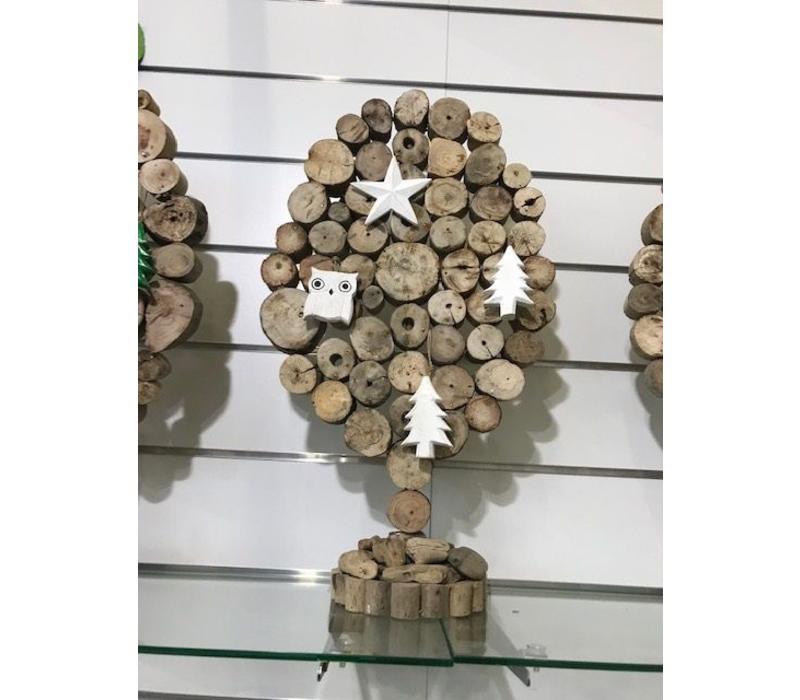 Boompje drijfhout