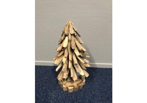 Kerstboom van drijfhout medium
