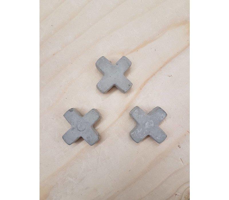 Betonnen magneetjes (3 stuks)