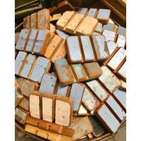 Visitekaarthouder scrapwood