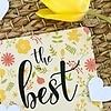 Bloom Bloeiconfetti kaart - the best of