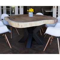 Suar houten boomstafel