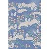 Eijffinger Rice 2 Butterflies & Flowers Blue 383620