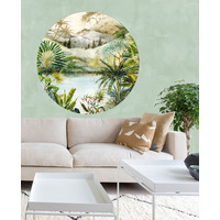 Wallpower circle - TROPICAL