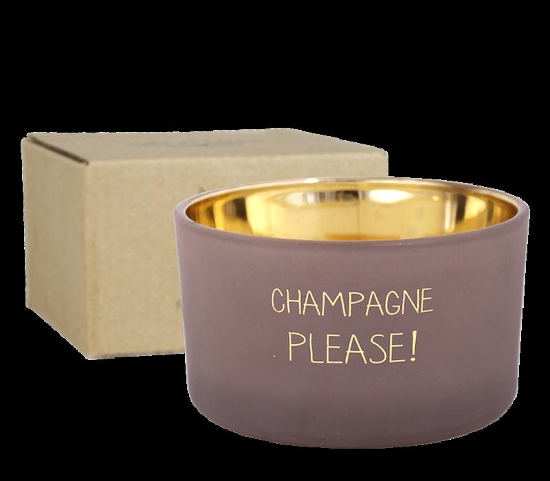 Soja kaars - Champagne please