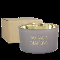 Soja kaars - You are a diamond