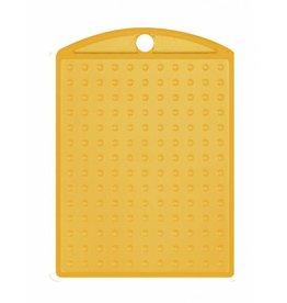 Pixel Hobby Medaillon transparant geel