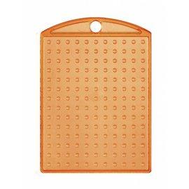Pixel Hobby Medaillon transparant oranje