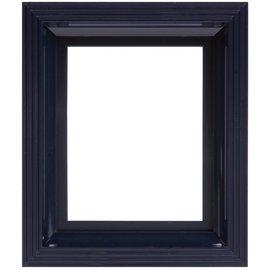 Pixel Hobby Kunststof lijst voor 1 basisplaat (zwartblauw)