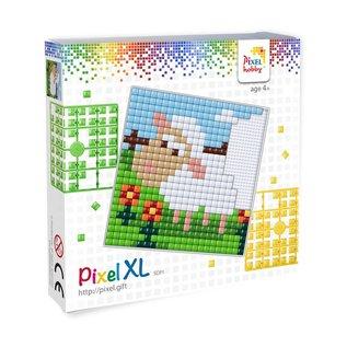 Pixel Hobby Pixel XL set  witte schaap