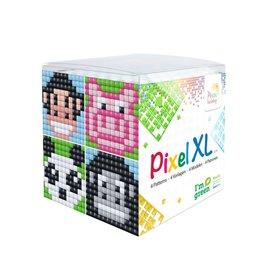 Pixel Hobby Pixel XL kubus  dieren I