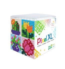 Pixel Hobby Pixel XL kubus  bloemen