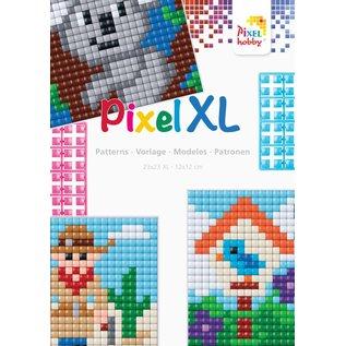 Pixel Hobby Boekje PixelXL voor basisplaat groot, vierkant