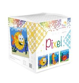 Pixel Hobby Pixel kubus  Zeedieren