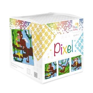 Pixel Hobby Pixel kubus  Aapjes