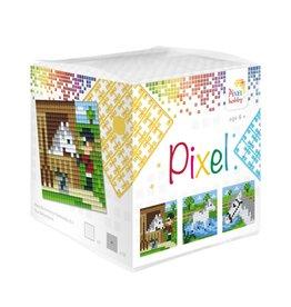 Pixel Hobby Pixel kubus  Paarden