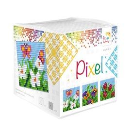 Pixel Hobby Pixel kubus  Bloemen