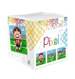Pixel Hobby Pixel kubus  Voetbal