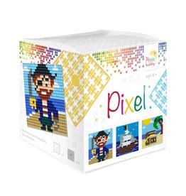 Pixel Hobby Pixel kubus  Piraat