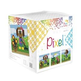 Pixel Hobby Pixel kubus  Tuinieren