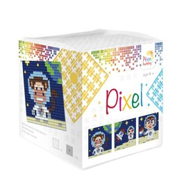 Pixel Hobby Pixel kubus  Op de maan