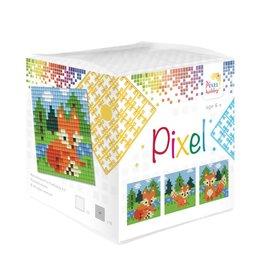 Pixel Hobby Pixel kubus  Vosjes