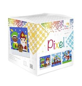Pixel Hobby Pixel kubus  Sinterklaas