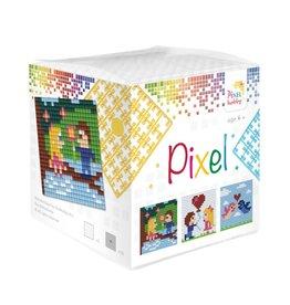 Pixel Hobby Pixel kubus  Liefde