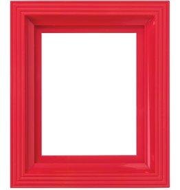 Pixel Hobby Kunststof lijst voor 1 basisplaat (roze rood)